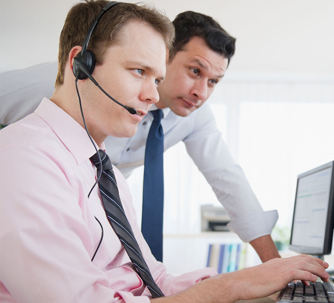 agents call center